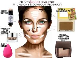 olive s favorite high end highlight contour s ivory and olive