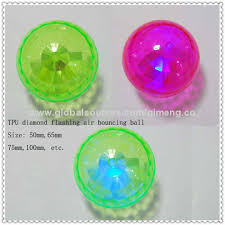 ball with light inside china flashing glitter sticks water bouncing ball with tpu material