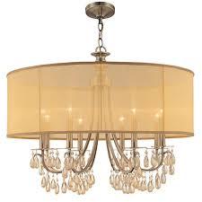 Hampton Chandelier Crystorama Lighting Group 5628 Ab Antique Brass Hampton 8 Light 32