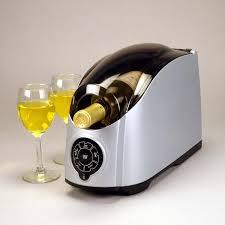 Single Wine Bottle Holder by Cooper Cooler Rapid Beverage U0026 Wine Chiller Wine Enthusiast