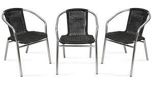 chaise jardin aluminium chaise aluminium jardin materiaux naturels chagne