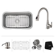 kitchen faucets kansas city stainless steel kitchen sink combination kraususa com