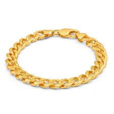 solid bracelet images Mens solid 8 1 2 inch 9ct gold curb bracelet 45 grams newburysonline jpg
