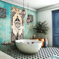 Bathroom Moroccan Porcelain Cast Iron Bathtub Sinks Shower Bench Best 25 Moroccan Bathroom Ideas On Pinterest Moroccan Tiles