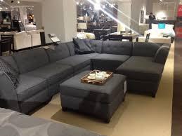 Macys Sectional Sofas by Macy U0027s Harper Six Piece Fabric Modular Chaise Sectional Sofa