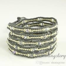 leather cuff wrap bracelet images 2018 wholesale wrap bracelets leather jewelry bracelet wrap jpg