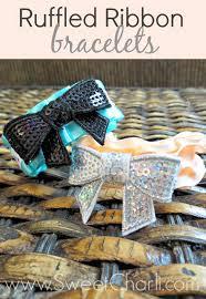 ruffled ribbon ruffled ribbon bracelets sweet charli