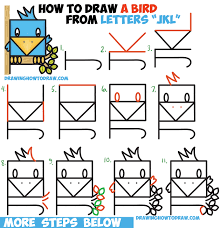 easy sketches to draw alfawerd how to draw a cute bird sitting in
