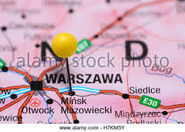 on a map minsk pinned on a map of europe stock photo royalty free image