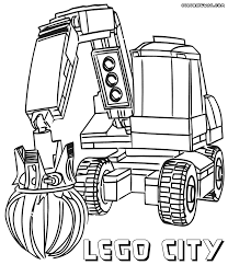 police car coloring page lego printable free at city for pages