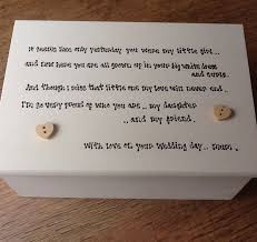 wedding gift hers uk personalised chic jewellery box of the gift for