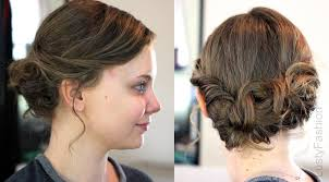 medium length hairstyles from the back updo for short hair from the back 2016 lustyfashion