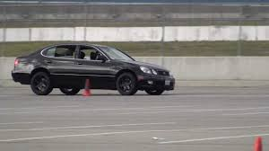 tires lexus gs300 1999 lexus gs400 speed ventures autocross youtube