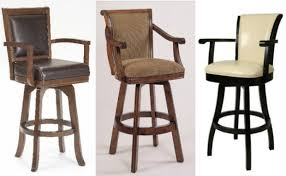 bar stools with armrests contemporary bar chair with armrests