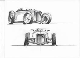 transportation sketches on behance
