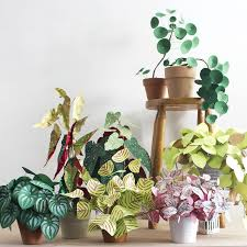 room with plants creative art create green room with plants from paper 77