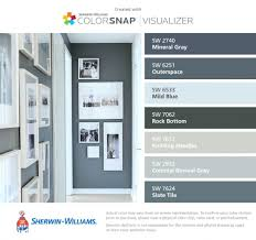sherwin williams color inspiration cool sherwin williams visualizer for your walls