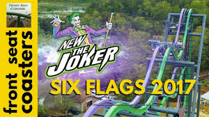Six Flags In America Six Flags Great America The Joker Coming In 2017 4d Roller