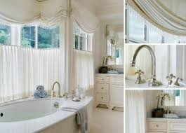 The Curtain Workroom Brisbee Style Cafe Curtains On Nickel Rods Under Soft Roman