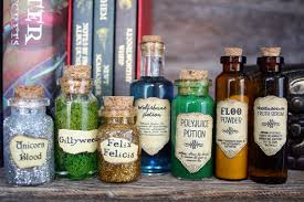 Harry Potter Party Decorations Diy These Wonderful Harry Potter Potion Are Wonderful Decorations Or