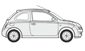 nissan 350z drawing how to draw a nissan micra как нарисовать nissan micra youtube