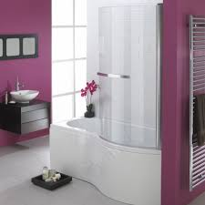 buy the essential hampstead p shape shower bath pack 1700x900mm essential hampstead p shape shower bath pack 1700x900mm 0 tap holes white