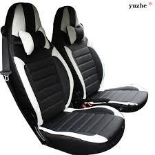 siege smart roadster yuzhe leather car seat cover for mercedes smart fortwo smart