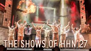the shows of halloween horror nights 2017 youtube