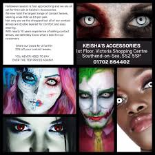 contacts lenses halloween keishas accessories keishassouthend twitter