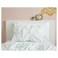 Target Black And White Comforter Gold Metallic Dot Bed In A Bag With Sheet Set Xhilaration Target