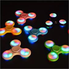fidget spinner light up blue 50pcs lot hand fidget spinner led lights lot dhl 50pcs lot light up