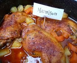 marmitons recettes cuisine cuisses de poulet faciles et qui changent recette de cuisses de
