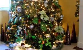 ribbon on christmas tree decorating ideas home design inspiration
