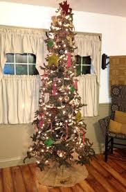 19 best homemade primitive tree images on pinterest christmas
