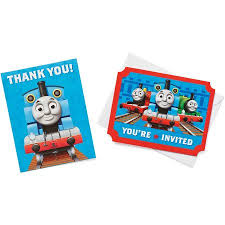 thomas friends invite combo pack 8 count party