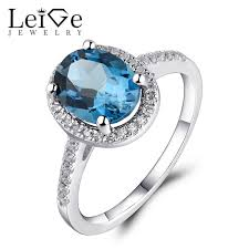 blue topaz engagement rings leige jewelry london blue topaz engagement ring sterling silver