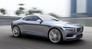 the volvo concept coupé u2013 the next generation p1800 elegant