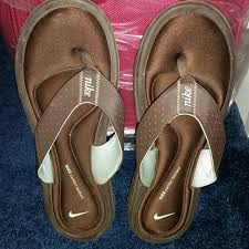Nike Comfort Flip Flops Nike Nike Comfort Flip Flops Brown Size 9 From Kristy U0027s Closet