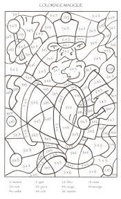Coloriage Magique De Noel Cp Ce1 Coloriage Noel A Imprimer Maison
