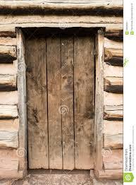 Rustic Cabin Rustic Cabin Door Stock Photo Image 59908237