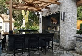 Patio Bar Designs Backyard Backyard Bar Designs Inviting Back Yard Kitchens