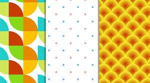 illustrator pattern polka dots illustrator for lunch circle based patterns rotate blend