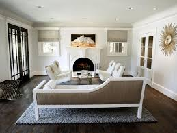 living room neutral living room with fireplace modern new 2017