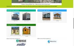 dufferin homes website product showcase reactive designs web