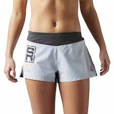 reebok spartan stealth mud short shorts grey women s clothing