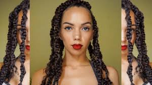 jumbo braids hairstyles braided hairstyle bold lip get ready with me youtube