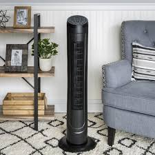 best oscillating tower fan 40in oscillating tower fan black best choice products