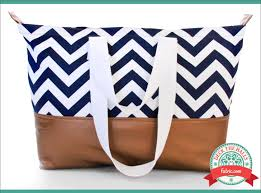 pattern for tote bag with zipper gilded chevron tote a generously sized bag with double handles a