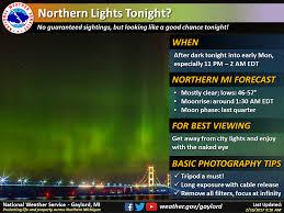 northern lights minnesota 2017 chances increase for northern lights across michigan tonight mlive com