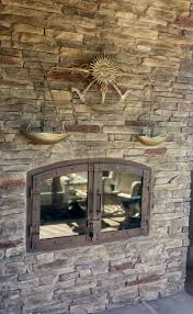 Indoor Outdoor Wood Fireplace Double Sided - indoor outdoor wood fireplace the differences of indoor outdoor